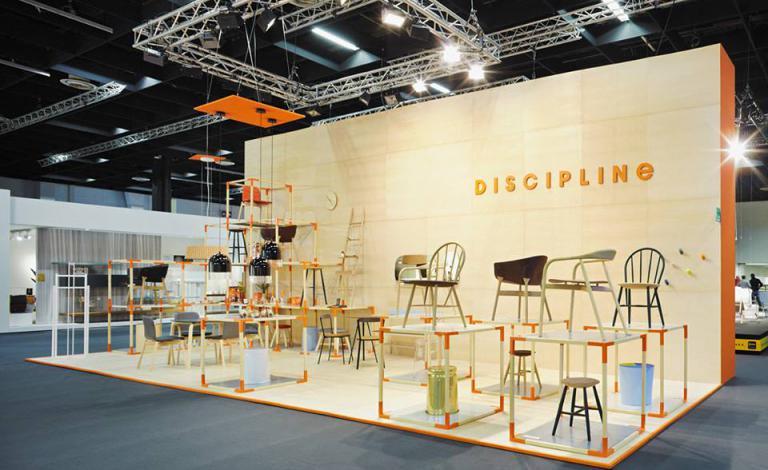 DISCIPLINE @ Imm Messe Köln 2014 Stand E011, Hall 3.2