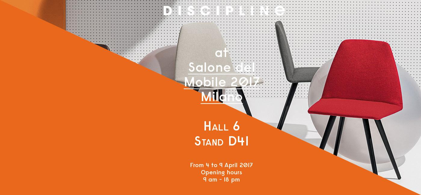 DISCIPLINE @ Salone del Mobile 2017