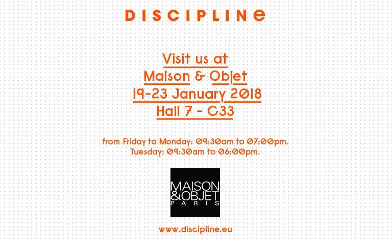 DISCIPLINE @ Maison & Objet 2018