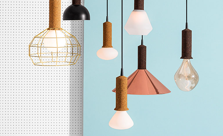Korlux: when cork meets the light
