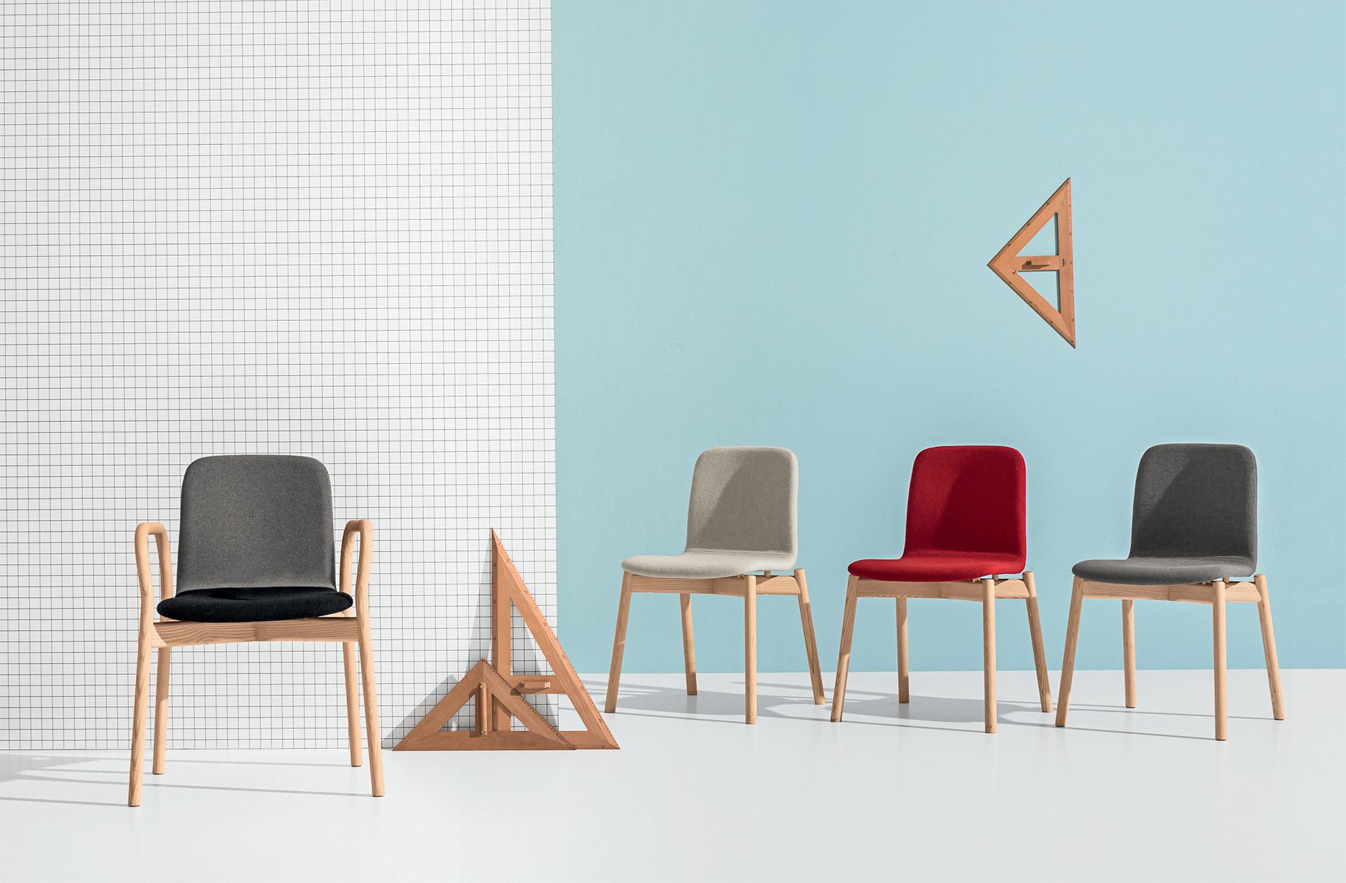 Sedia Imbottita Design : Two tone sedia sedia imbottita sedia in pelle