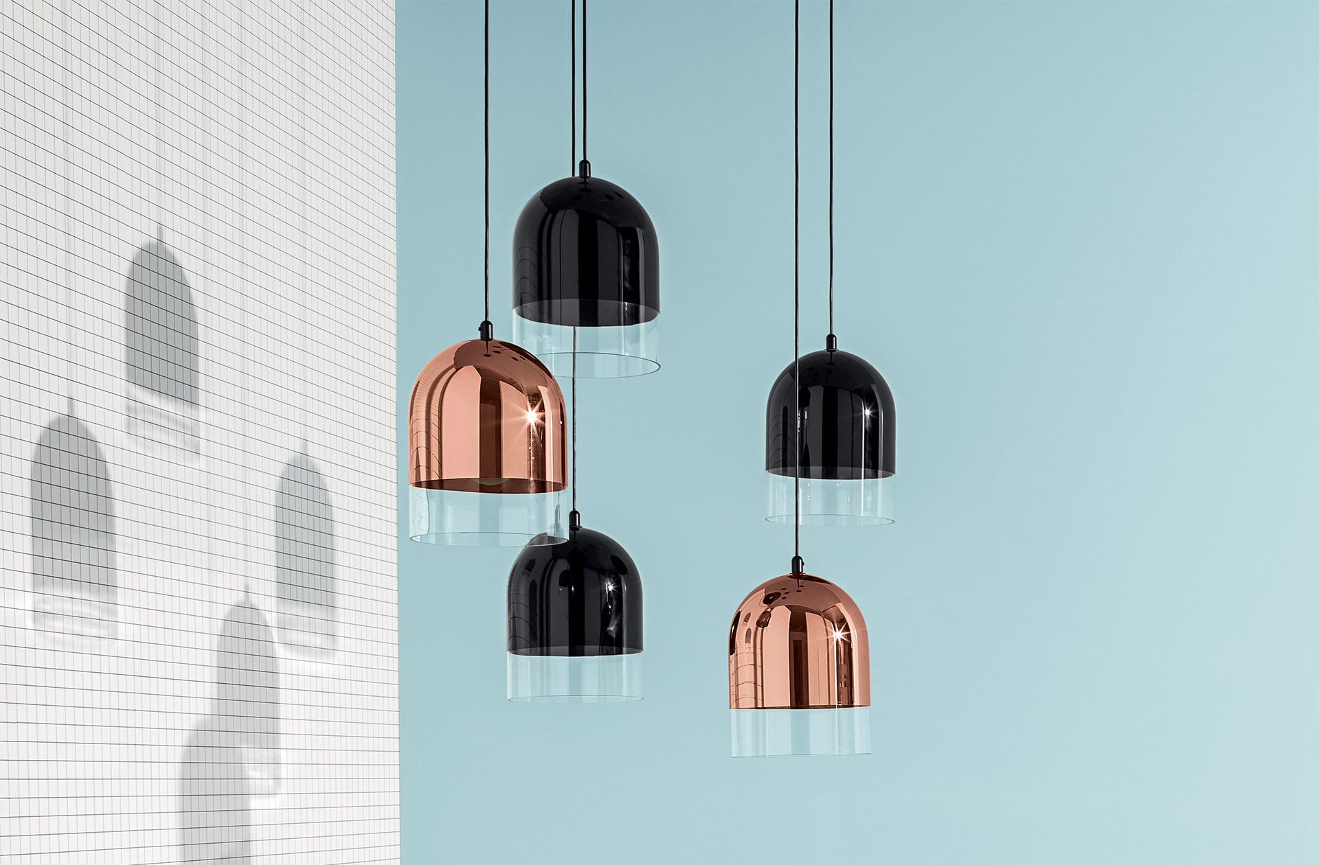 Bell lamp illuminazione lampada lampade a sospensione