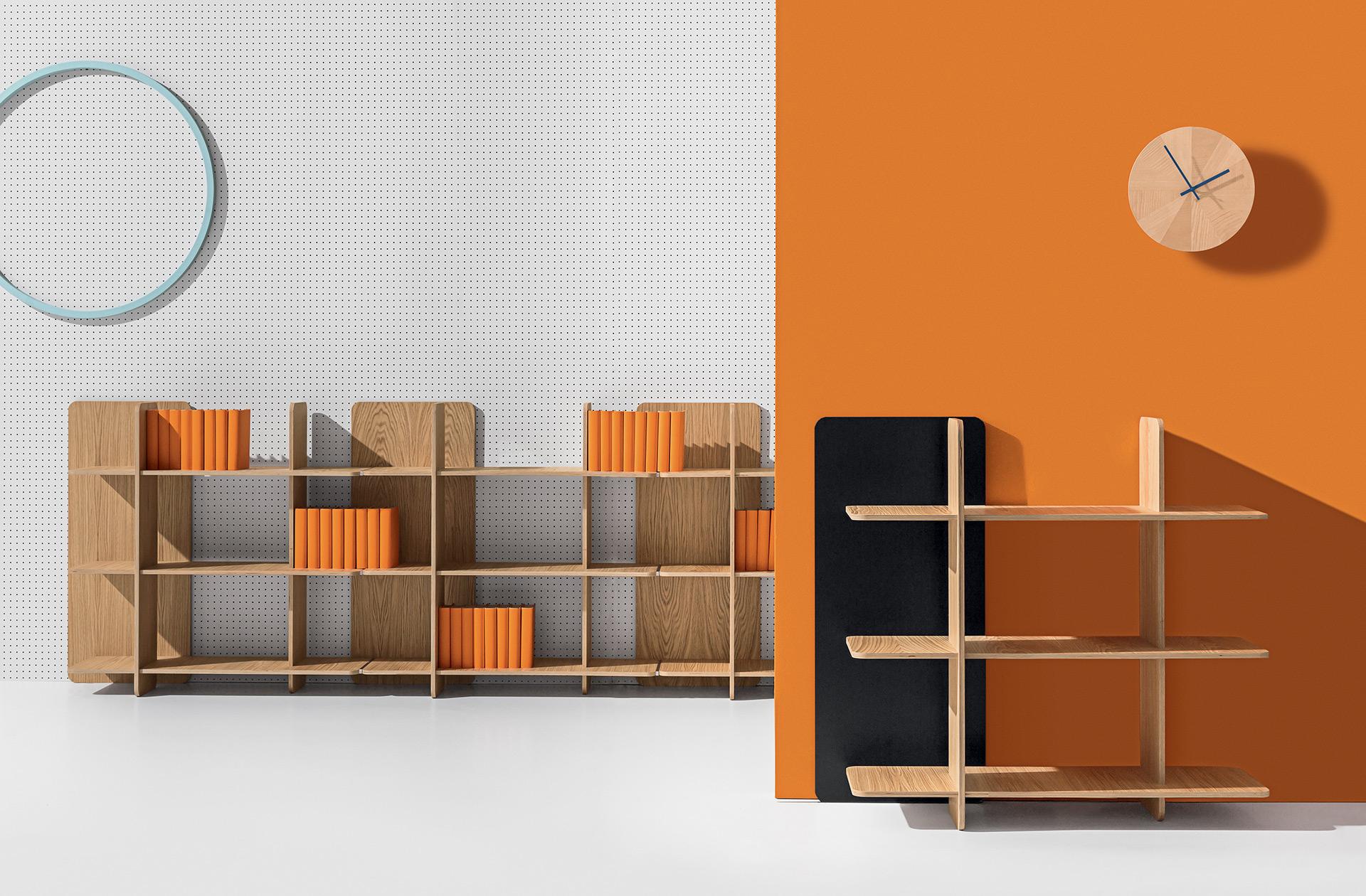 Axis - libreria, libreria design, libreria moderna