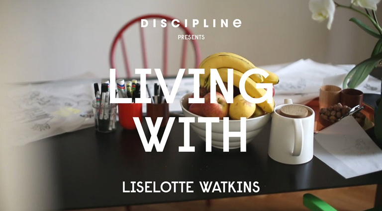 DISCIPLINE - LIVING WITH - Liselotte Watkins